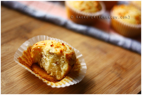 Bacon and Cheese Cupcakes