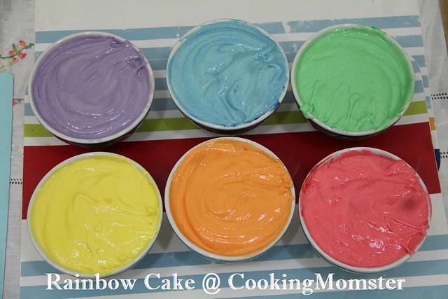 Rainbow Cake c