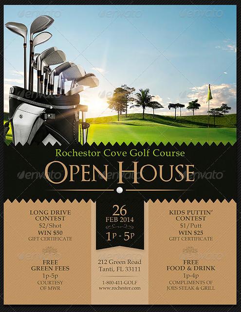 open house flyer templates