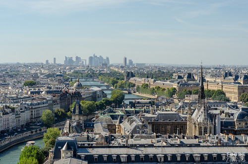 Paris Cityscape - From the top of Notre Dame