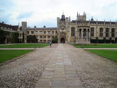 Quadrangle, Trinity College, Cambridge