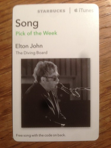 Starbucks iTunes Pick of the Week - 10/08/2013 - Elton John - The Diving Board