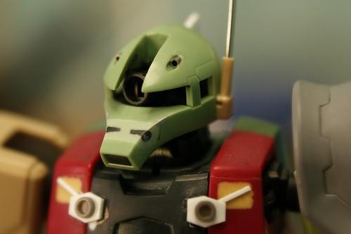 Real Grade - MS-05L Zaku I - Sniper Type - WiP 9 -