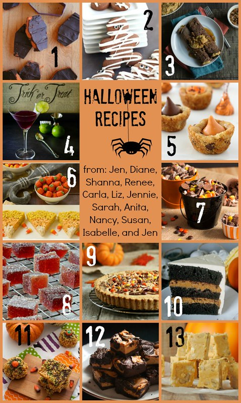 Halloween Holiday Food Party