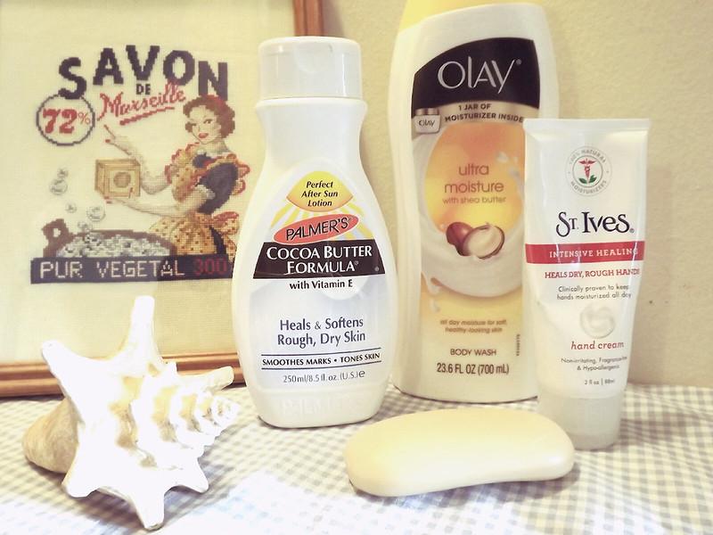 Dry Skin Helpers!