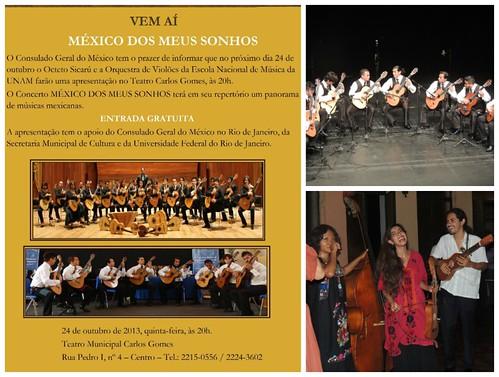 Consulmex Río de Janeiro concierto fotor