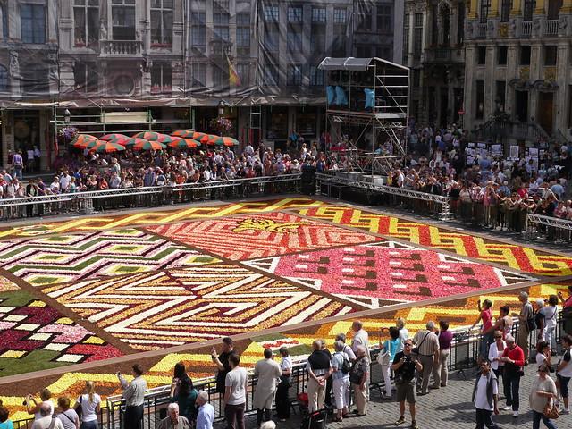 Image Result For Tapis De Fleurs Bruxelles
