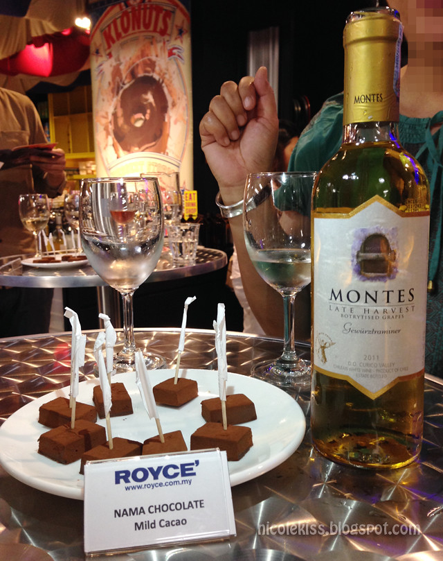 Royce Chocolate and Wine Tasting