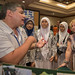 11th ASEF ClassNet Conference participants visiting the ASEF Green Action exhibition (4)