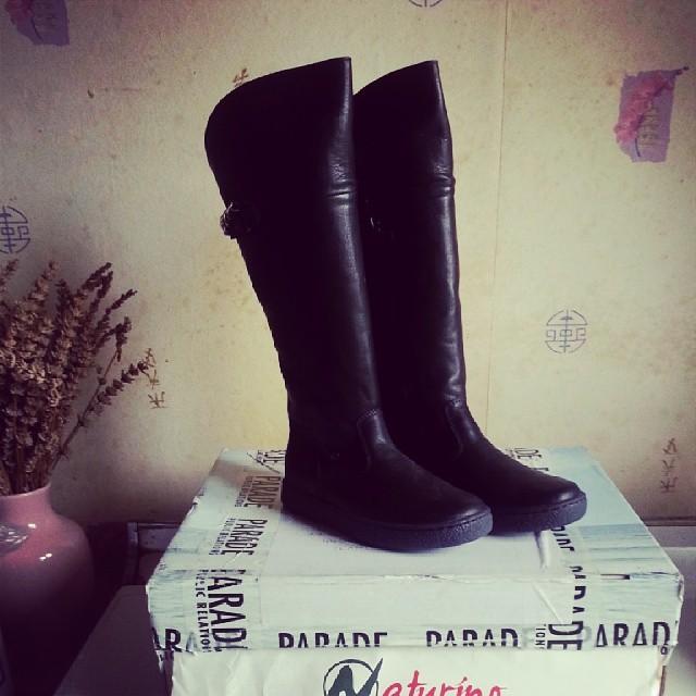 ♡ j'ai reçu les bottes #naturino gagné chez léona ♡ #shoes #chaussures #bottes #look #ourlittlefamily #france