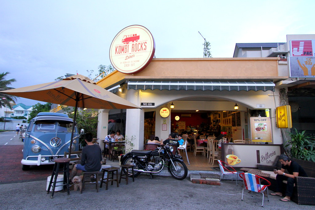 Romantic Place in Singapore: Kombi Rocks