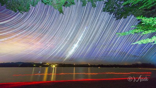 Scotts Landing Startrails