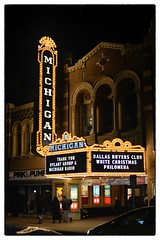 Michigan Theater at Night - Ann Arbor, MI