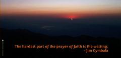 prayer of faith waiting