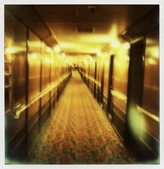 Queen Mary Ghostly Corridor