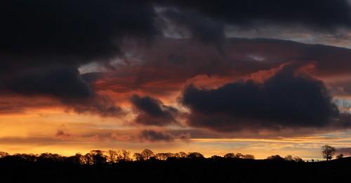 trees sky panorama clouds sunrise landscape goldenhour graig northwales glanconwy ef28135mmf3556isusm canoneos550d ashperkins