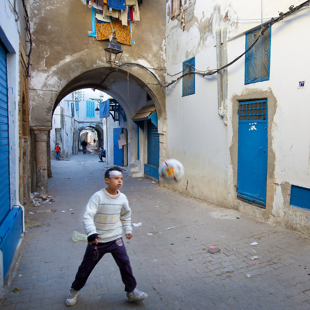 People in Passageways, Medina, Tunis (3)