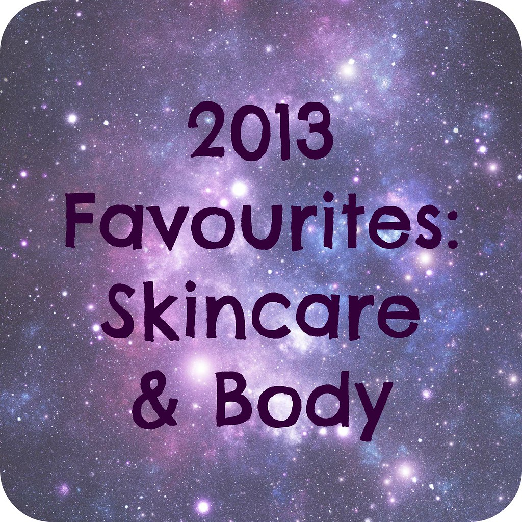 2013 Skincare & Body Favourites