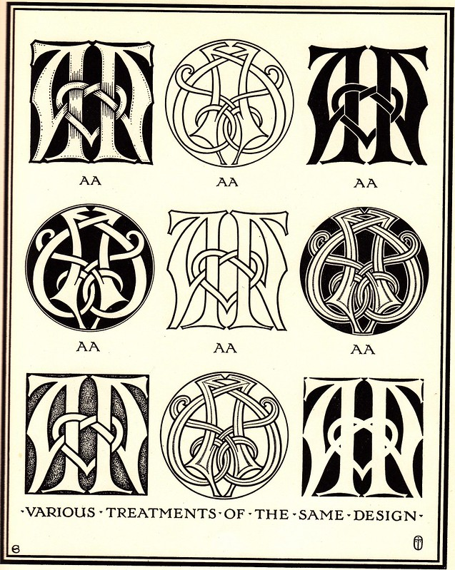 Monograms & Ciphers by AA Turbayne 1912 b