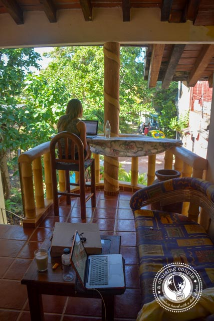 A Preview of Life in San Pancho, Mexico - Porch