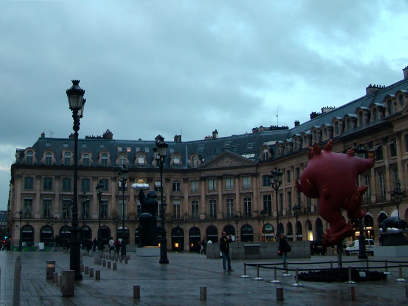 Place Vendome Li Chen Exhibition