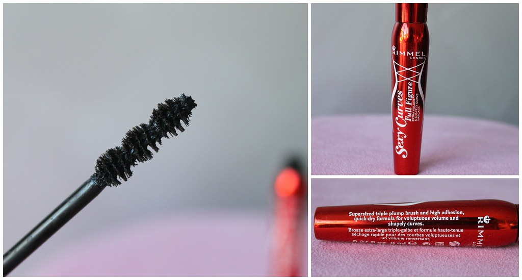 Rimmel Sexy Curves Mascara australian beauty review blog blogger ausbeautyreview before after compare comparison drugstore affordable mascara black volume length eye lashes pretty beautiful priceline