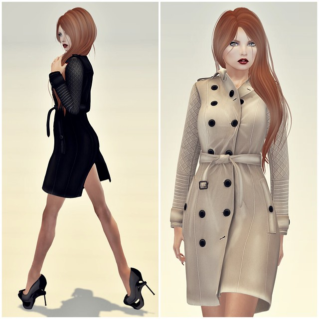 Erratic Chloe Trenchcoat 1