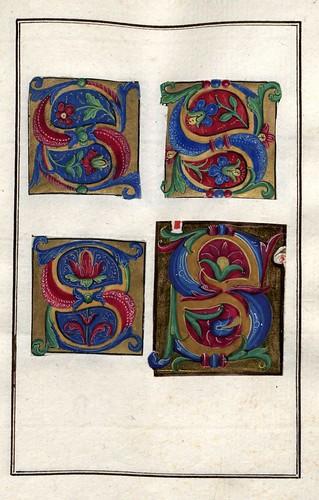 009-Álbum de las iníciales medievales- pag  0073- Biblioteca Nacional de Polonia