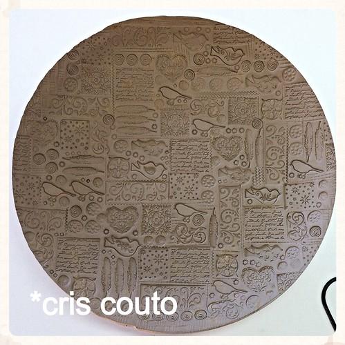 Novo prato Passarinho…. esse vai set azul... by cris couto 73
