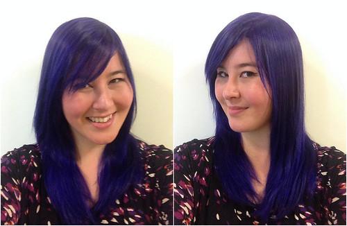 Purple Round 1 Collage