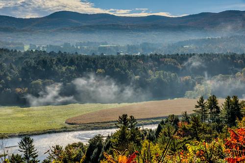autumn vermont seasons unitedstates fallcolors newhampshire rivers barnet passumpicriver