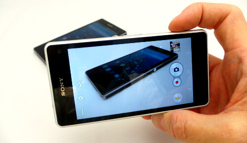Sony Xperia Z1 Compact Camera App