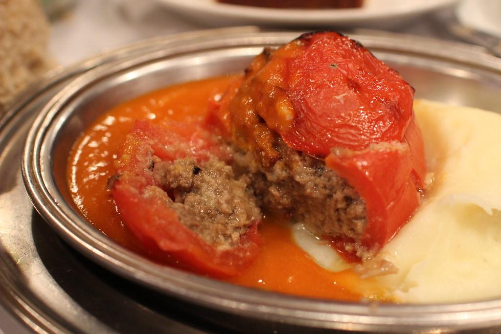 コンコンブルトマトの肉詰め2