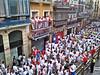 errekaincoming posted a photo:Viendo pasar a los corredores instantes antes del encierro