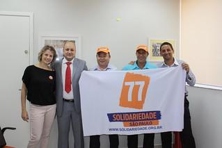 Carolina Pesciotto, Chicão Momesso, Roberto Sekiya, Nivaldo Ribeiro e Jairo Amorin