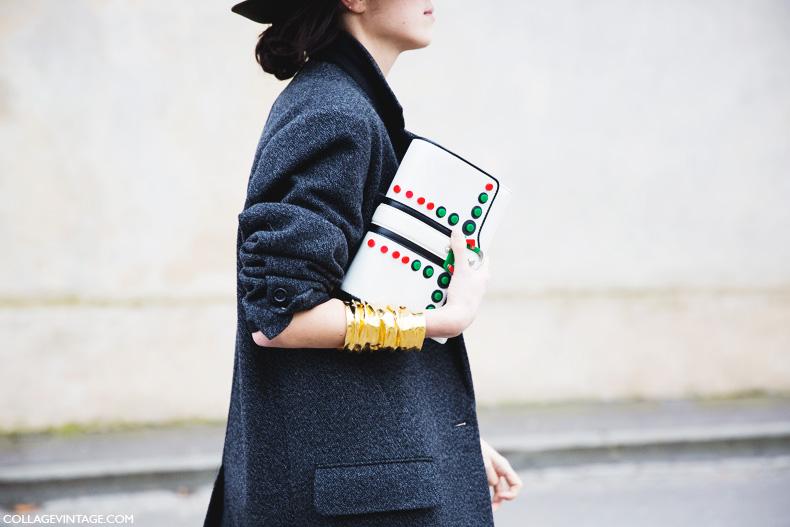Paris_Fashion_Week_Fall_14-Street_Style-PFW-Green_Hat-Man_Repeller-Dior-2