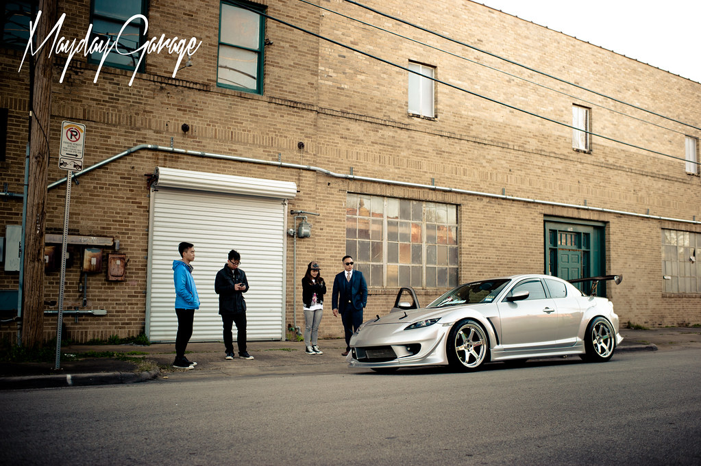 Up early with Dennis To's turbocharged RX-8 SE3P