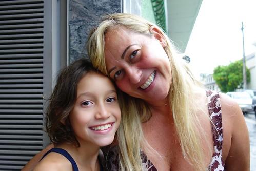 Mother and daughter at Collegio de Padre Eustaquio