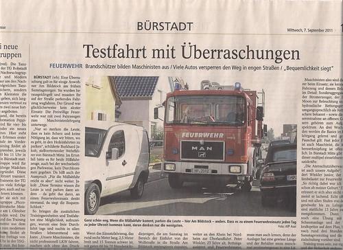 2011 09 07 BZ Feuerwehr am Bildstock