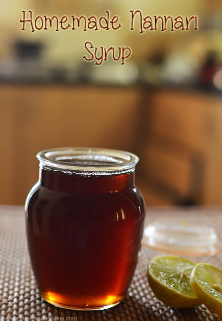 Homemade Nannari Syrup Recipe