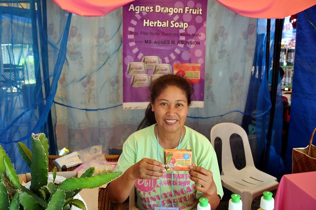 Agnes Dragon Fruit Soap