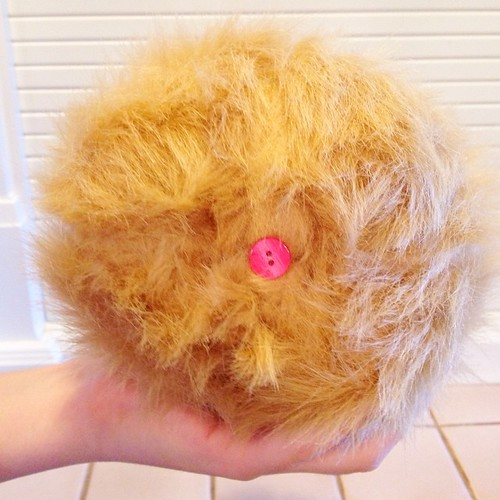 Can you guess what the pink button is on the #tribble?