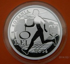 Romania Olympic Commttee cpon obverse