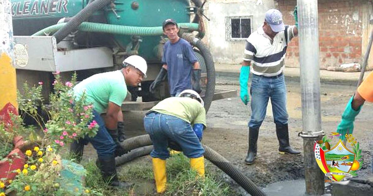 Aguas del Chuno realiza varios trabajos en la ciudad