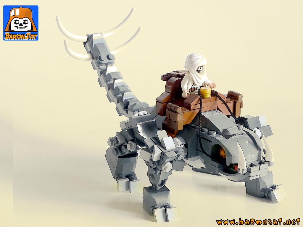 Desert-Planet-Mount-01 (custom built Lego model)