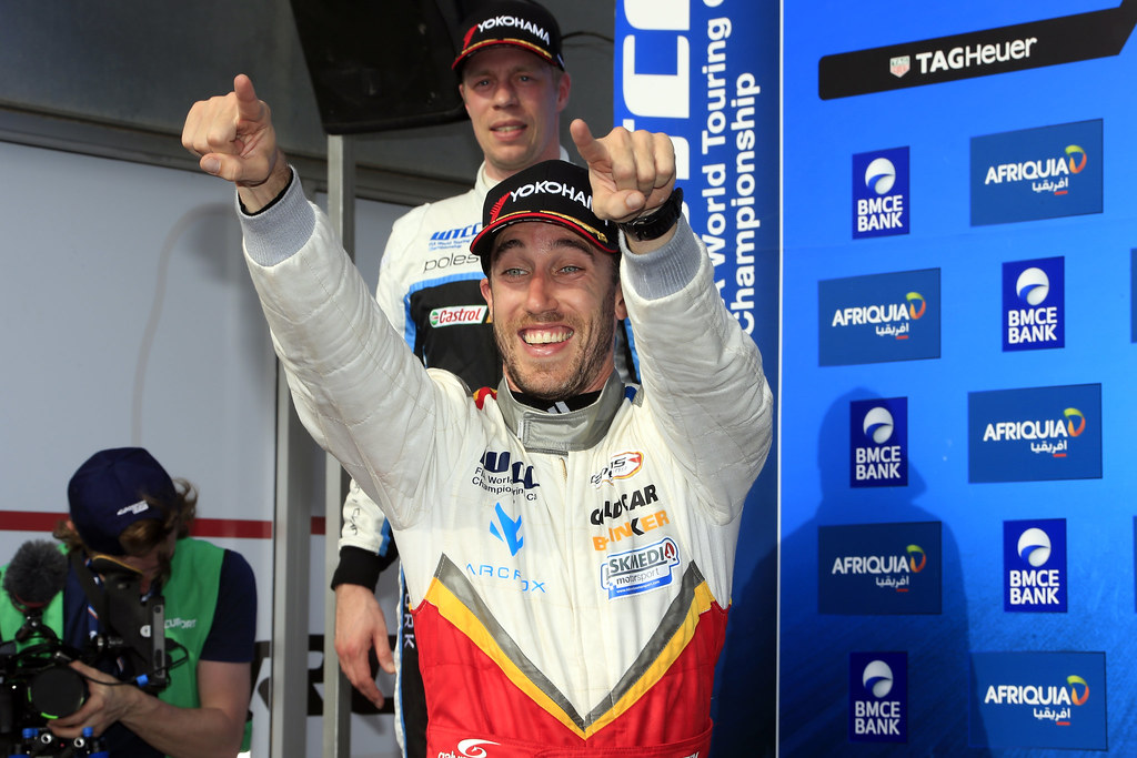GUERRIERI Esteban (ARG) Chevrolet RML Cruze TC1 Campos Racing ambiance portrait  podium race 1during the 2017 FIA WTCC World Touring Car Race of Morocco at Marrakech, from April 7 to 9 - Photo Paulo Maria / DPPI