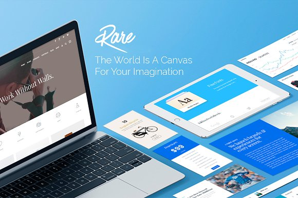 Rare v2.0.1 - Multi-Purpose WordPress Theme