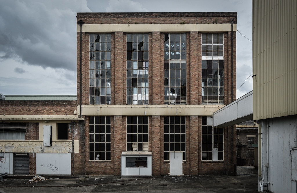 Old Peters Ice Cream factory in Taree Australia