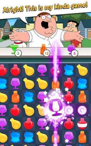 I Griffin arrivano su Android con un bellissimo puzzle game!!