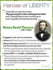 Heroes of Liberty ? Henry David Thoreau